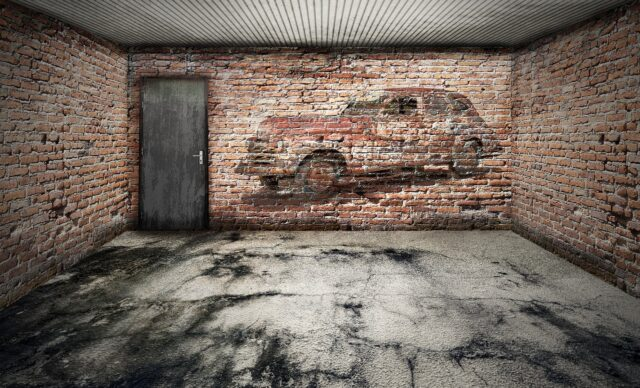 ガレージ 車